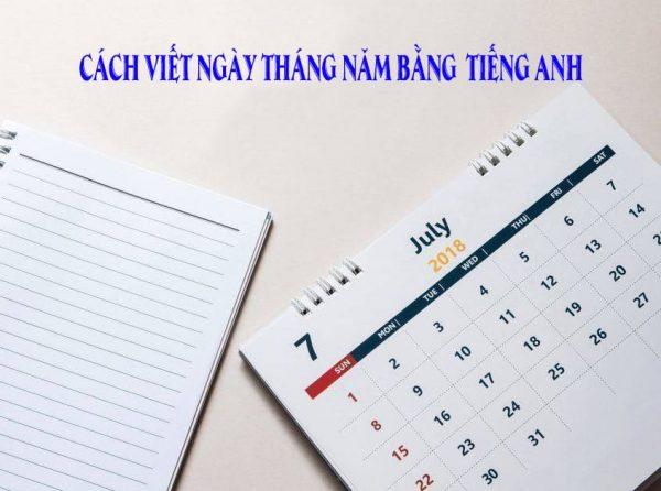 Photo of Cách viết ngày tháng năm trong tiếng Anh