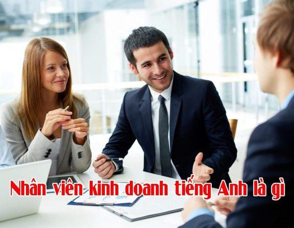 Photo of Nhân viên kinh doanh tiếng Anh là gì